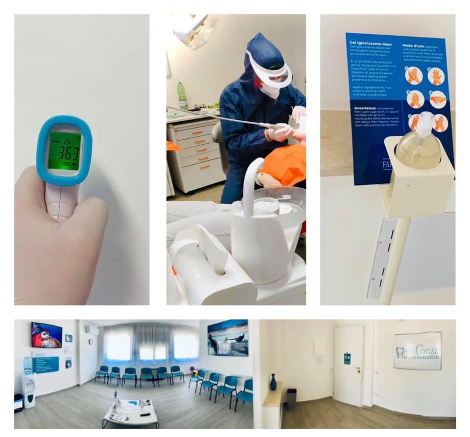 Sicurezza studio dentistico Di Conza